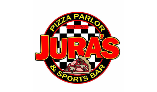 Jura's pizza parlor and sports bar