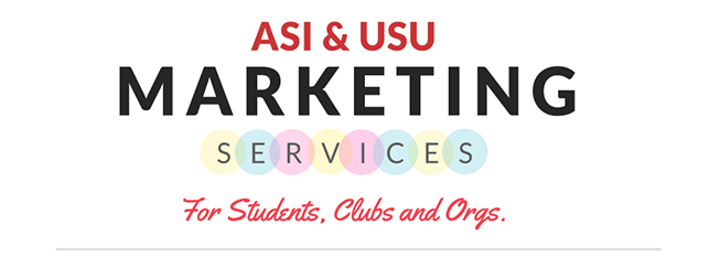 ASI USU Marketing Services Banner