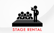 Stage Rental Icon