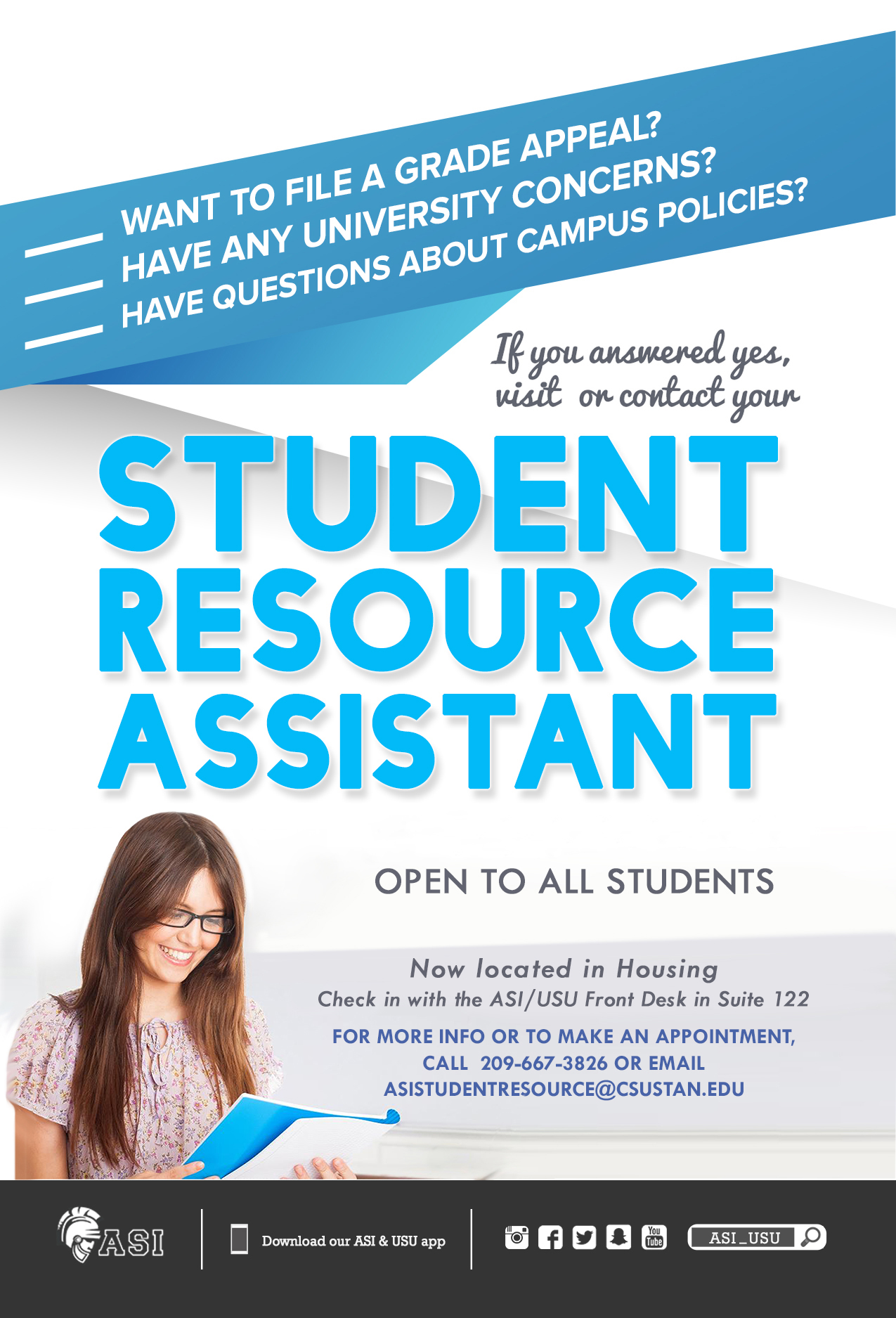 Student Resource Assisant Flyer