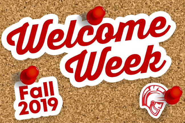Welcome Week Icon
